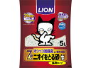 ライオン商事/ニオイをとる砂 7歳以上用 鉱物タイプ 5L