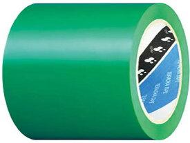 寺岡製作所/半硬質塩ビラインテープ 緑 100mm×20m/No.340