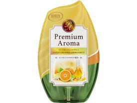 エステー/お部屋の消臭力Premium Aromaスイートオレンジ&ベルガモット