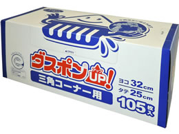 白元アース/ダスポンUP!三角コーナー用 105枚/67981