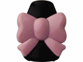ソニック/キッズクリップ リボン 服に穴が開かない名札留め ピンク