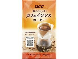 UCC/おいしいカフェインレスコーヒー VP200g
