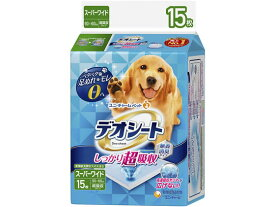 ユニ・チャーム/デオシートしっかり超吸収無香消臭 スーパーワイド15枚