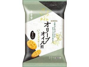 金吾堂/オリーブオイル仕立ての塩せんべい ハーブ&ビネガー風味