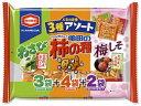 亀田製菓/亀田の柿の種 3種アソート 9袋 250g