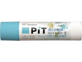 トンボ鉛筆/スティックのり ピットハイパワーS フレッシュフローラル/PT-TPK03