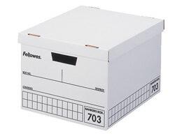 フェローズ/バンカーズボックス 703ボックス A4 黒 3個/970302
