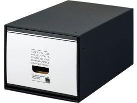 【お取り寄せ】ライオン/文書保存箱 A4用 大 ブラックタイプ/162-88
