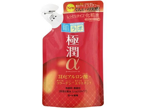 ロート製薬/肌ラボ 極潤αハリ化粧水しっとりタイプつめかえ用