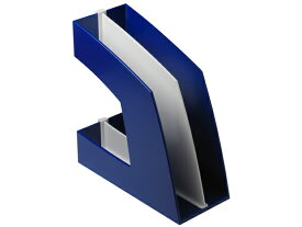 ソニック/ファイルボックス A4タテ 背幅107mm ブルー/FB-708-B