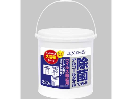 大王製紙/エリエール除菌できるアルコールタオルウイルス除去大容量