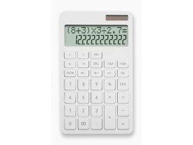アスカ/計算式表示電卓 ホワイト/C1242W