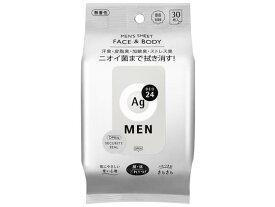 エフティ資生堂/エージーデオ24 メンズシート FACE&BODY無香性 30枚