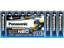 パナソニック/乾電池 エボルタネオ 単4形 20本/LR03NJ/20SW