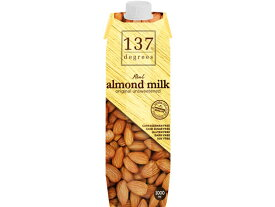 ハルナプロデュース/137degrees アーモンドミルク甘味不使用 1L