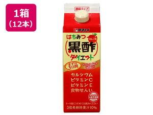 タマノイ酢/はちみつ黒酢ダイエット 濃縮タイプ 500ml×12本