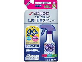 トップ NANOXスプレー衣類・布製品のスプレー 詰替 320ml