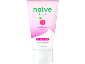 【お取り寄せ】クラシエ/ナイーブ メイクも落とせる 洗顔 フォーム 桃の葉 ミニ