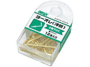 【お取り寄せ】ミツヤ/洋折釘 12本×5/BX1-17