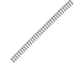 カール事務器/ダブルループリング 10mm ブラック/TW-10-K