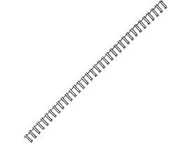 カール事務器/ダブルループリング 13mm ブラック/TW-13-K