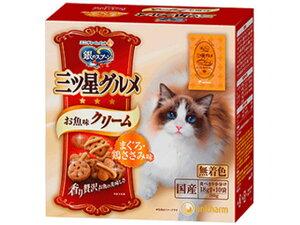 【お取り寄せ】ユニ・チャーム/銀のスプーン 三ツ星グルメ お魚味クリーム マグロ・ササミ味