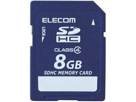 エレコム/SDHCメモリカード 8GB データ復旧/MF-FSD008GC4R