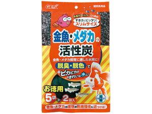 【お取り寄せ】ジェックス/金魚・メダカの 活性炭スリム 5+2P