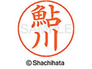 【お取り寄せ】シヤチハタ/ネームペン用ネーム シルバー 既製 鮎川/X-GPS-0099