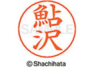 【お取り寄せ】シヤチハタ/ネームペン用ネーム シルバー 既製 鮎沢/X-GPS-0100