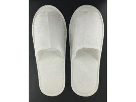 【お取り寄せ】スマイル/不織布スリッパ ホワイト 10足セット×30セット/745480