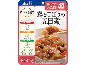 【お取り寄せ】アサヒグループ食品/バランス献立 鶏とごぼうの五目煮