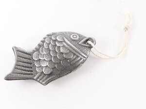 【お取り寄せ】鳥部製作所/鉄の健康鯛