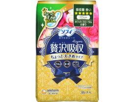 ユニ・チャーム/ソフィ Kiyora 贅沢吸収 ホワイトフローラル 多い用 36枚