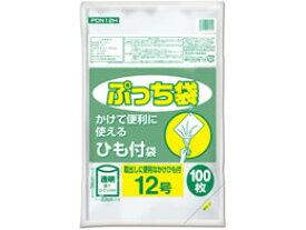 【お取り寄せ】オルディ/ぷっち袋 ひも付 透明 12号 100枚/PDN12H