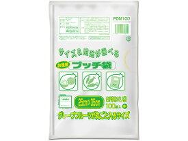 【お取り寄せ】オルディ/プッチ袋 半透明 中 お徳用 100枚/PDM100