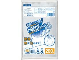 オルディ/ポリ袋フラッピー 半透明 12号 200枚/FP-12