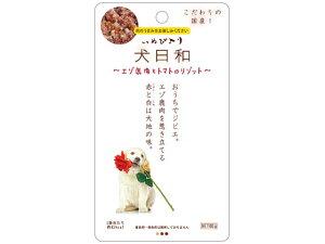 【お取り寄せ】わんわん/犬日和 レトルト エゾ鹿肉とトマトのリゾット 60g