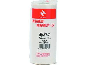 ニチバン/紙粘着テープ 18mm×18m 7巻/210-18