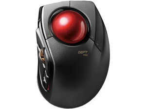 エレコム/トラックボールマウス 人差指 8ボタン チルト機能/M-DPT1MRXBK