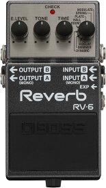 Boss Digital Reverb RV-6<ボス デジタルリバーブ>【商品番号 10005249 】