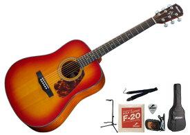 【初心者セット】【アクセサリー付】MORRIS M-351I CS SETモーリス アコースティックギター アコギ チェリー・サンバースト