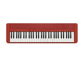CASIO CT-S1 RD Red Casiotone カシオ キーボード カシオトーン 61鍵 レッド