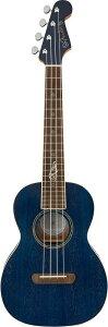 Fender Dhani Harrison Uke Walnut Fingerboard Sapphire Blueフェンダー ウクレレ テナー ブルー 【シグネイチャーモデル】【ダーニ・ハリスン】