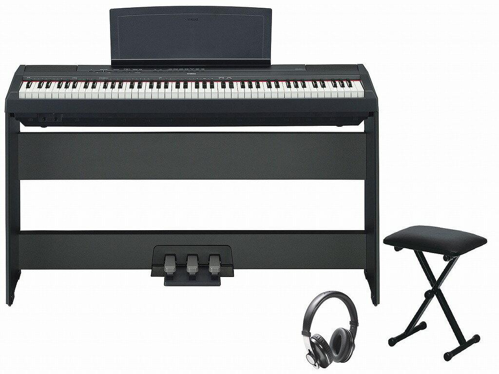【専用スタンドつき】【お客様組立て品】YAMAHA P-115 BK フルセット ヤマハ 電子ピアノ【RECOMMEND:イオンモール久御山店】