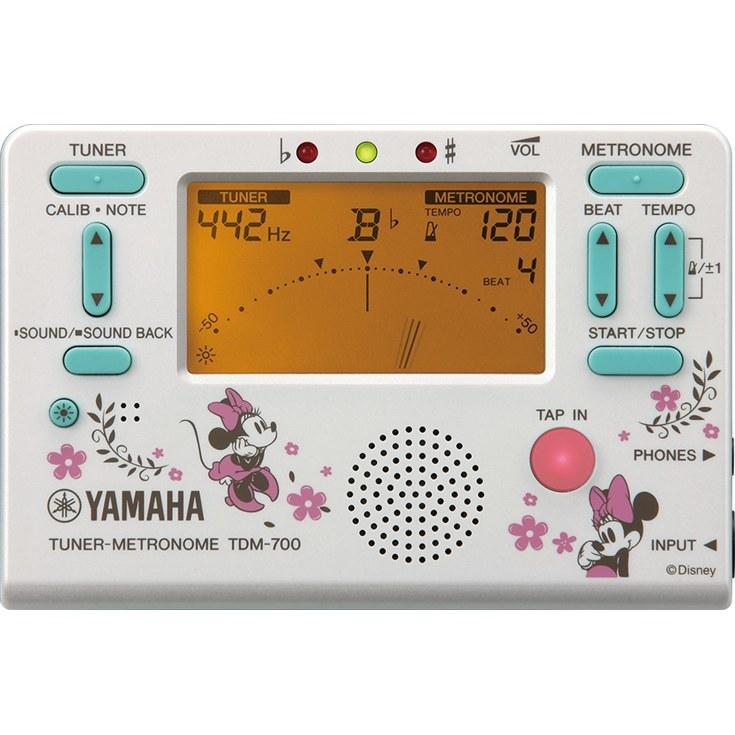【数量限定】YAMAHA TDM-700DMN4 ヤマハ ディズニーチューナーメトロノーム【店頭受取対応商品】