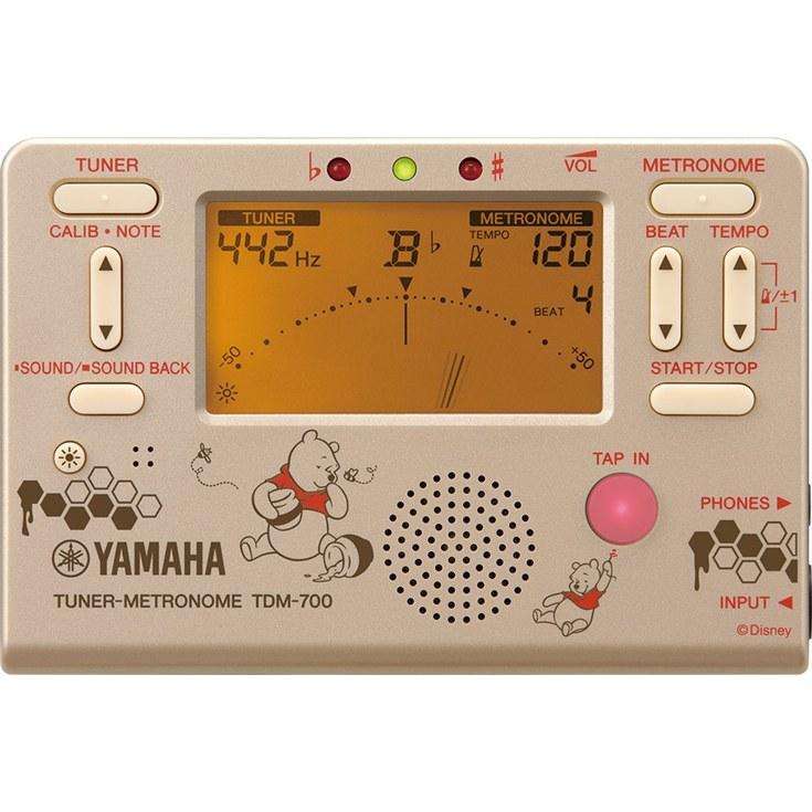 【数量限定】YAMAHA TDM-700DPO3 ヤマハ ディズニーチューナーメトロノーム【店頭受取対応商品】