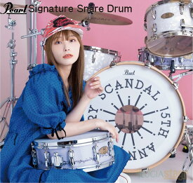"""Pearl RN1450S/C SCANDAL """"RINA"""" Model~Limited Edition~ Signature Snare Drum 14""""X5""""【期間限定 受注生産品】パール スネアドラム スキャンダル リナ スネアドラム"""