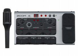 ZOOM V6 Vocal Processorズーム ボーカルプロセッサ【店頭受取対応商品】