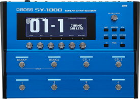 BOSS SY-1000 Guitar Synthesizerボス ギターシンセサイザー【店頭受取対応商品】